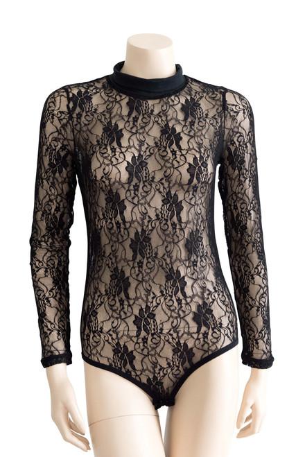 Ellesse Black Lace Bodysuit