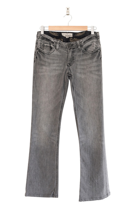 J & Company Grey Distressed Denim Jeans