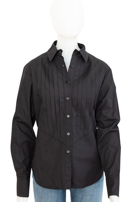 Womens Wayne Cooper Black Long Sleeve Shirt