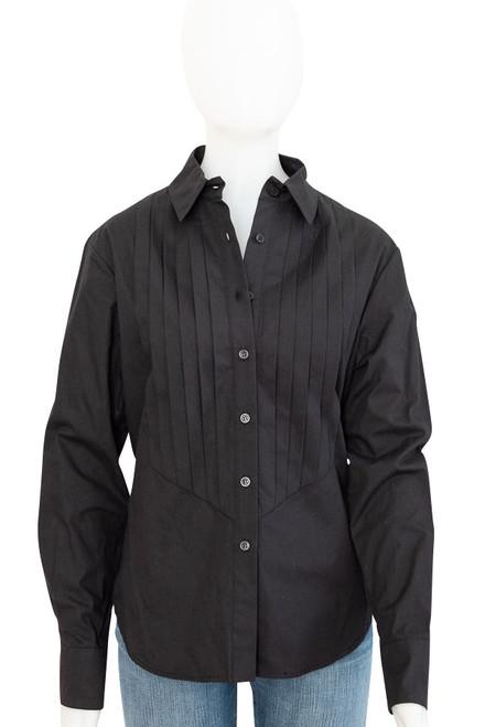 Womens Wayne Cooper Black Long Sleeve Shirt