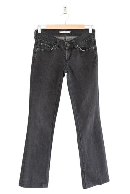 Mavi Womens Skinny Bootleg Denim Jeans