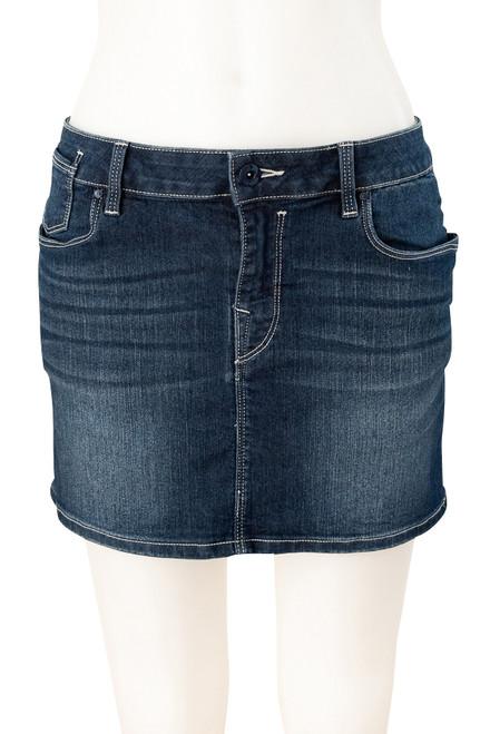 EDC Stretch Denim Mini Skirt Preloved