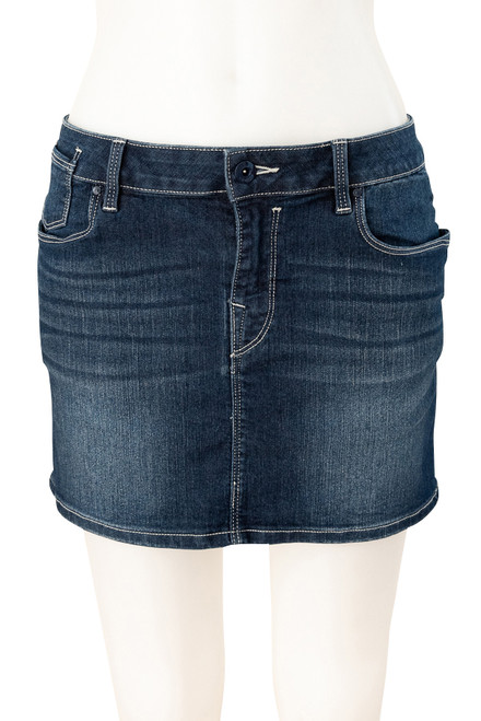 EDC Stretch Denim Mini Skirt Preloved