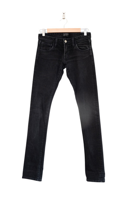 Lee Supa Tube Black Skinny Leg Jeans
