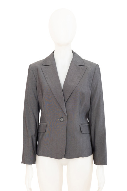 Cue Grey Fitted Jacket Preloved