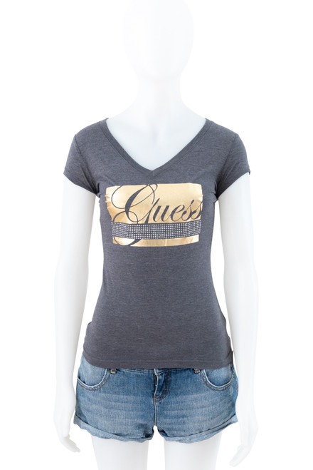 Guess Grey Fitted Tee