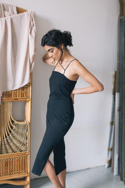 Cossac LBD Black Bodycon Dress