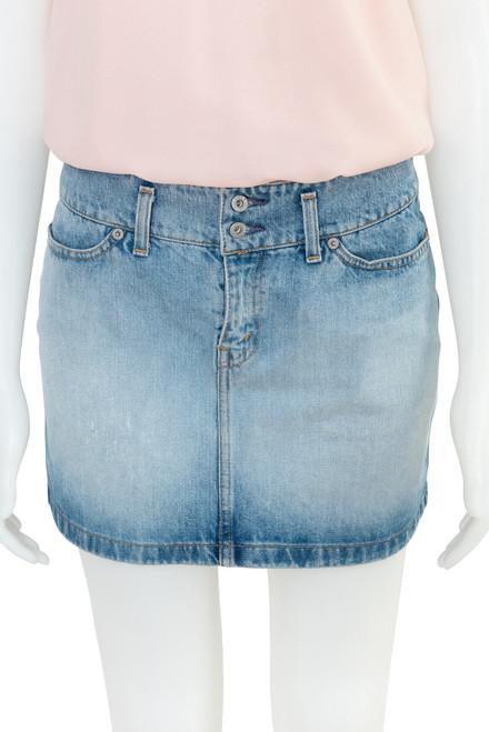 Levis Denim Preloved Mini Skirt
