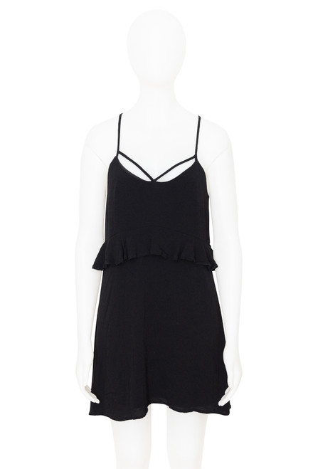 Isla Black Mini Dress
