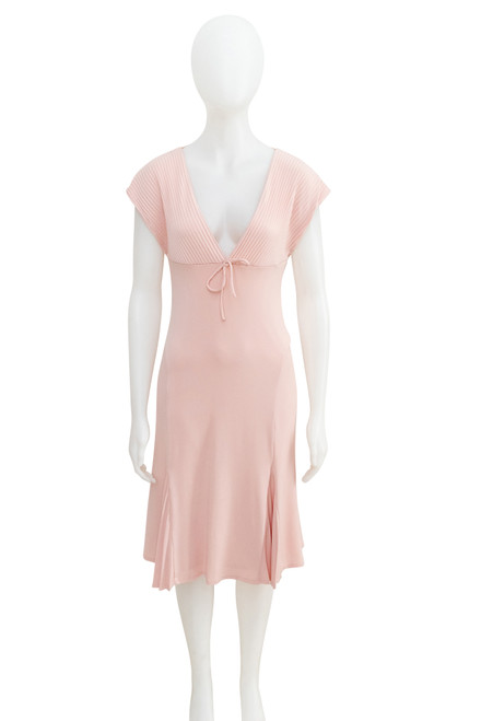 Morrissey Nude Pink Kimberley Stretch Dress