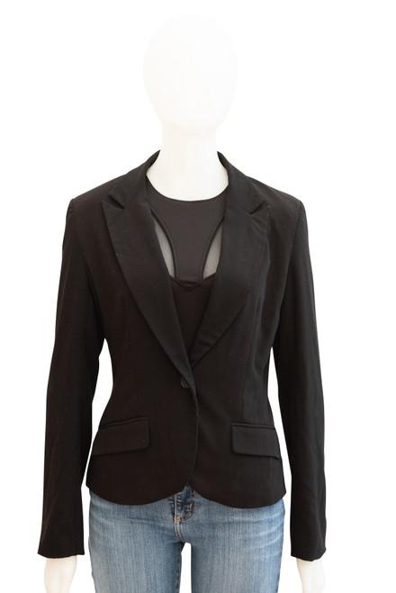 Tally Weijl Preowned Black Jacket