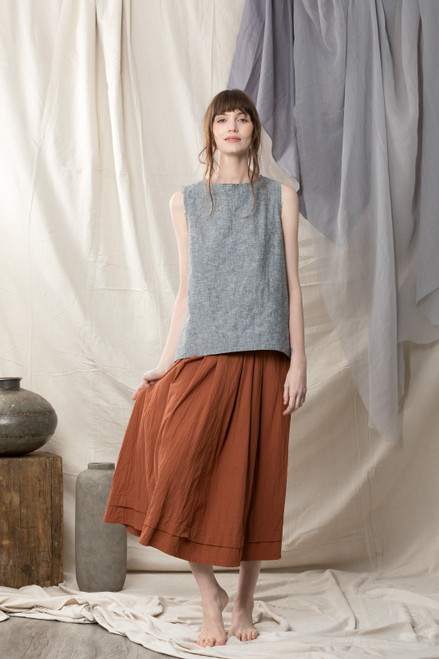 Copper Organic Cotton Skirt