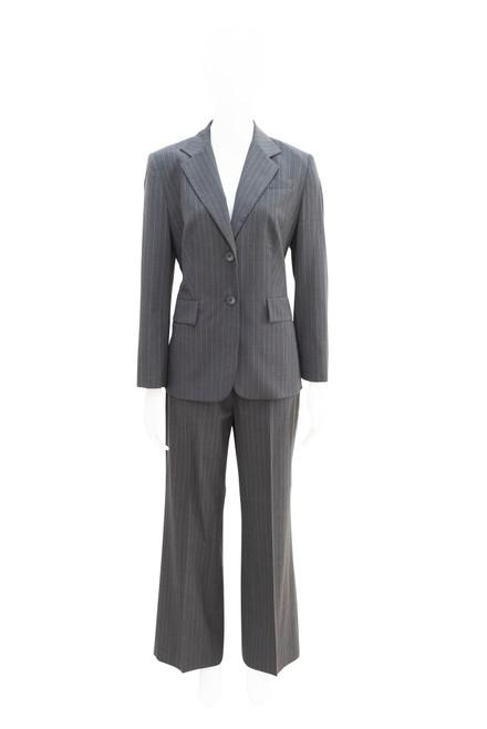 Sportscraft Grey Wool Pinstripe Suit
