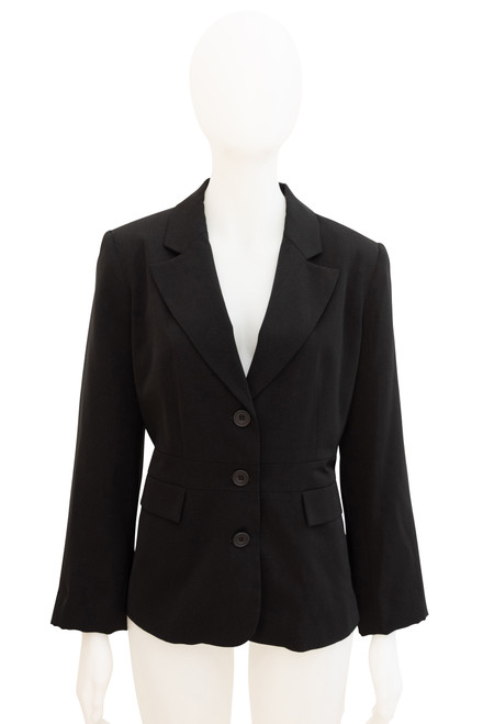 Black Blazer Preloved - Size 16