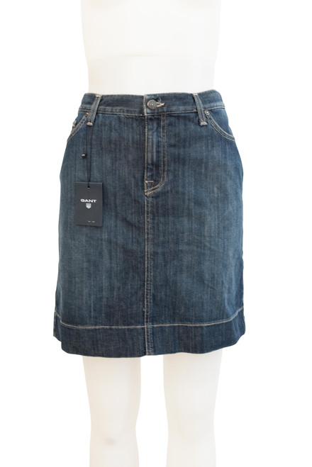 Gant Blue Denim Skirt