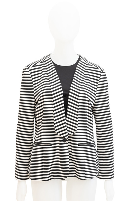 French Connection Striped Blazer Preloved