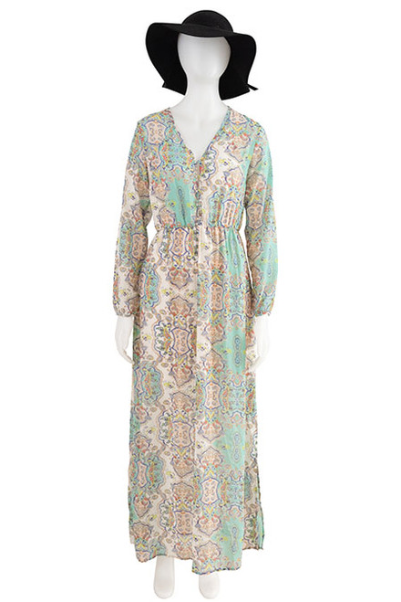 Boohoo Paisley Bohemian Dress Seconhand