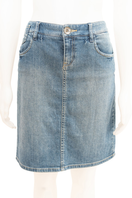 Secondhand Esprit Blue Denim Skirt