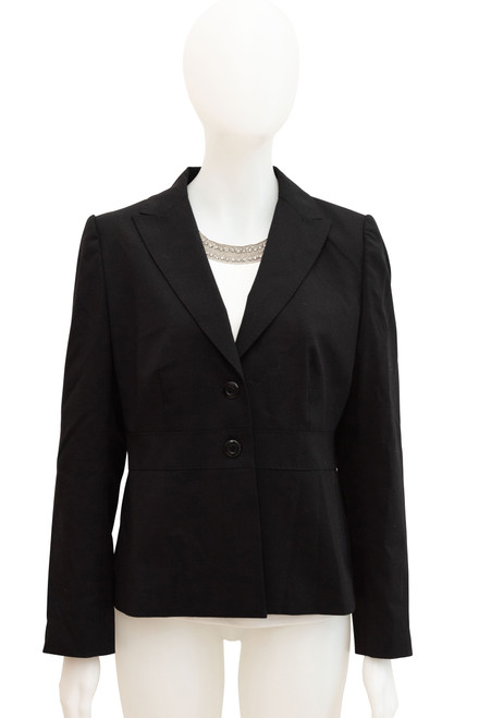 Sportscraft Black Wool Blend Jacket Preloved