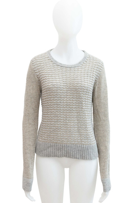 French Connection Grey Wool Blend Jumper Preloved