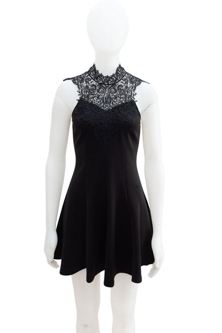 Secondhand Forever 21 Black Mini Dress