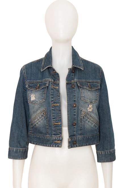 Secondhand Portmans Cropped Denim Jacket