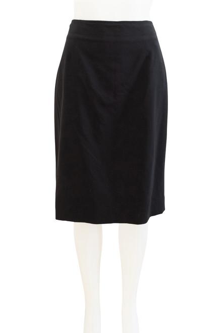 Second hand Sportscraft Black Wool Blend Skirt