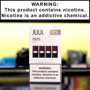 Juul Virginia Tobacco Pods (4 pack, 3% Nicotine)