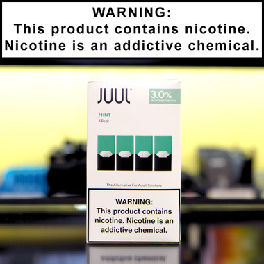 Juul Mint Pods (4 pack, 3% Nicotine)