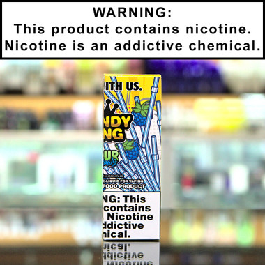 Sour Straws 100ml Eliquid by Candy King