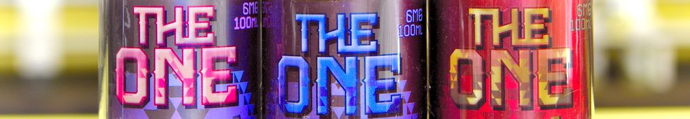 The One premium eliquid by Beard Vape Co.