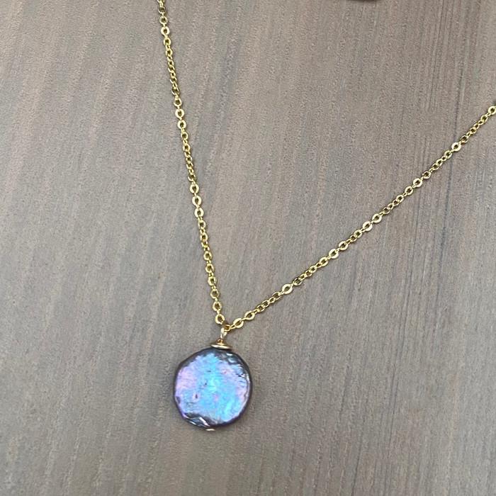 Blue Coin Pearl