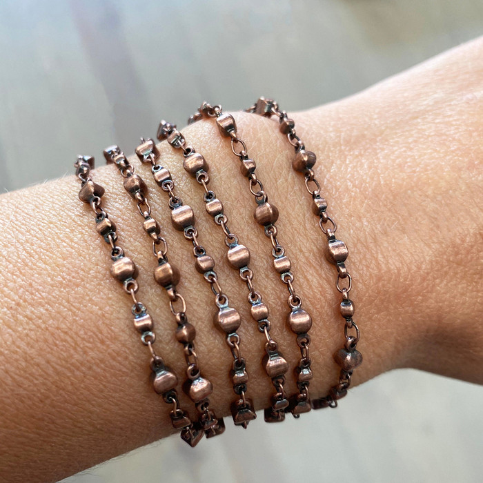 Copper Bracelet & Necklace