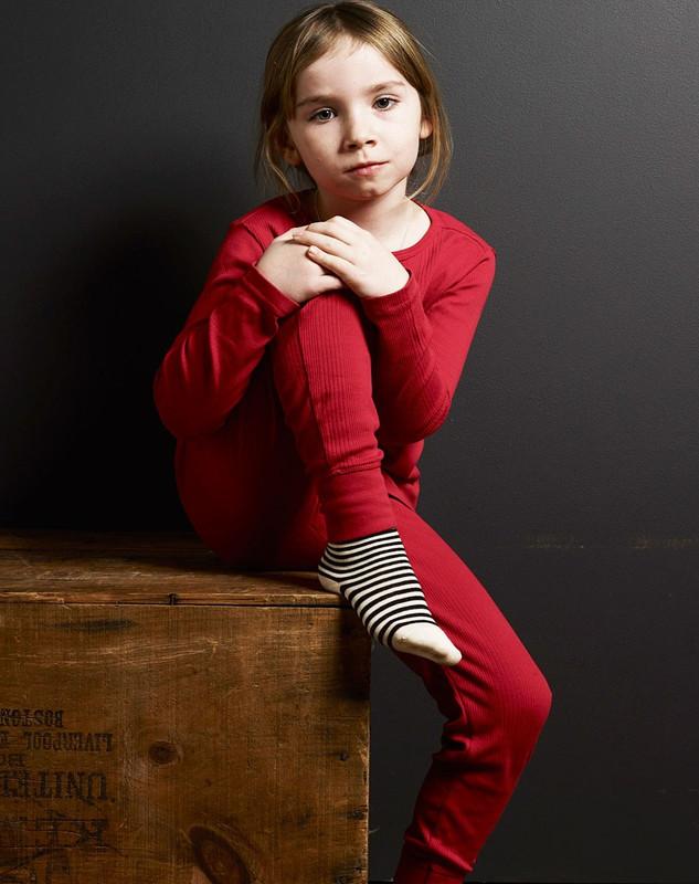 Girl's Pant (Ribbed)