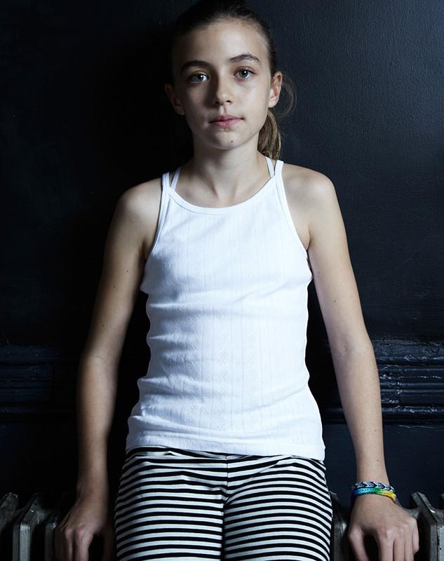 Girl's Tank Top (Pointelle)
