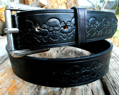 Skull and Crossbones Belt