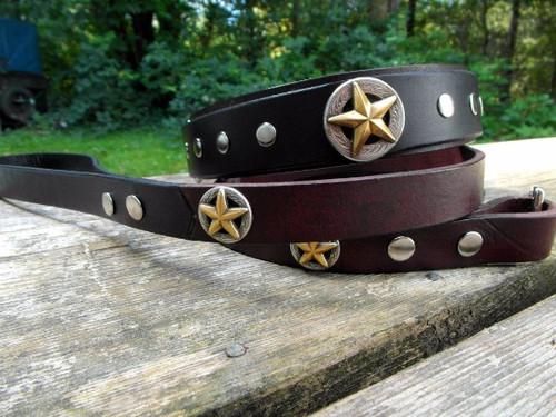Texas Star Collar and Leash
