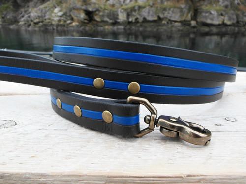 Thin blue line leash