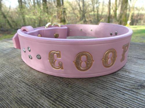 Pink Name Collar