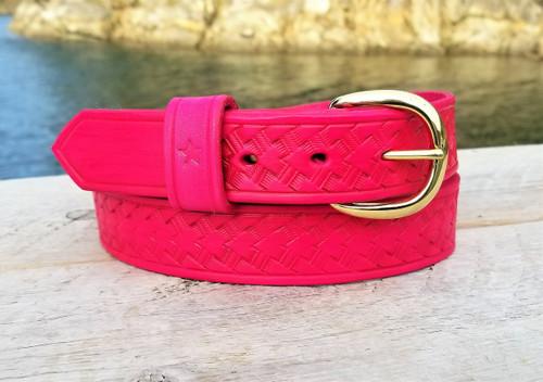 Hot Pink Fuschia Belt for Summer