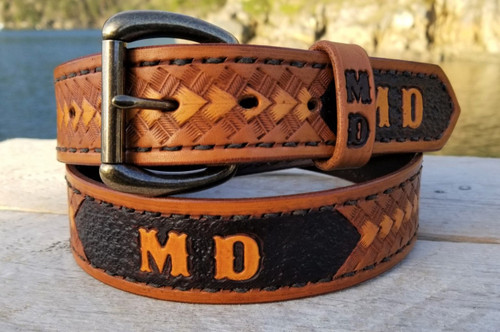 Western Arrowhead Belt with name