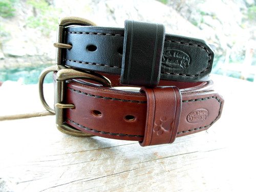Heavy duty double stitched collars