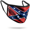Flag WAVY Face Cover (3-layer) Made in USA