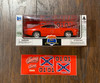 1:25 Scale 1969 Dodge Charger R/T (Orange) Comes with Decal Kit