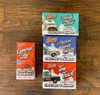 Set of 4 Christmas Ornaments each W/Sound Button General Lee, Tow Truck, Daisy's Dixie & Hazzard Sheriff