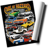 Cars of Hazzard Wall Poster 36x24