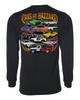 Cars of Hazzard Long Sleeve T-Shirt Black Back