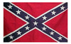 Confederate Flag Embroidered 4x6