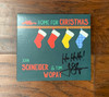 Autographed Tom  Wopat Christmas CD