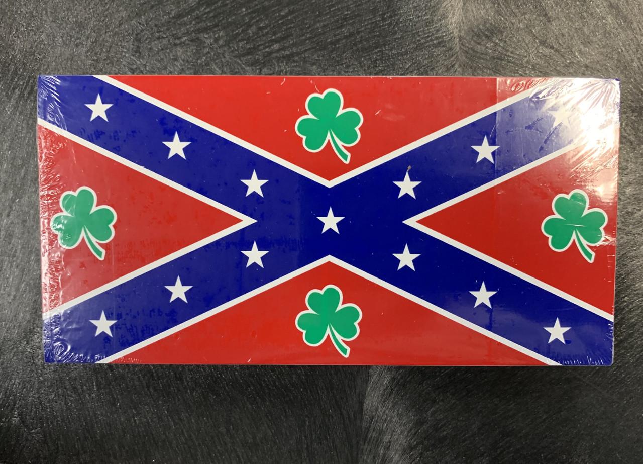 Confederate IRISH Bumper Sticker